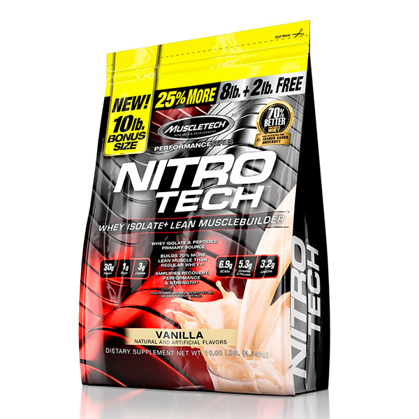 NITRO-TECH PERFORMANCE SERIES (10 LBS)