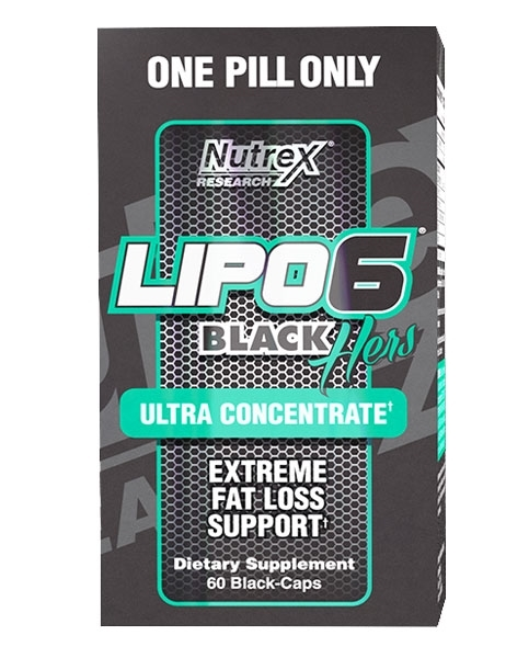 LIPO 6 BLACK HERS (60 CPS)