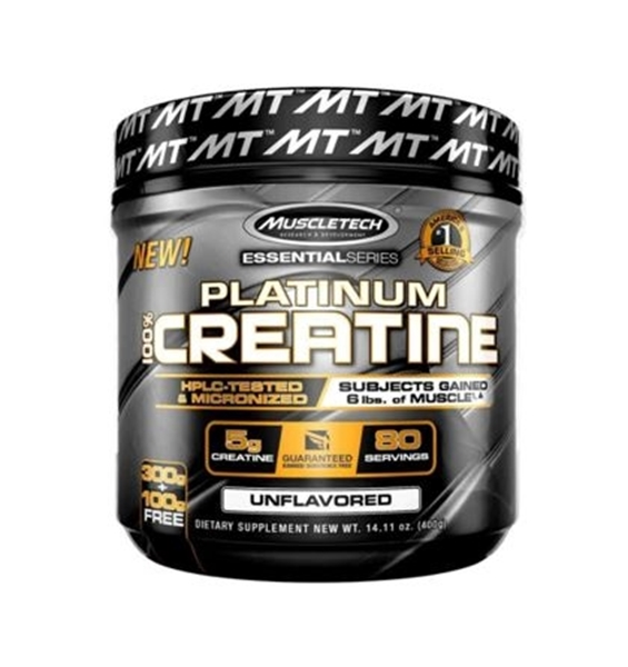 PLATINUM 100% CREATINE (80 SRV)