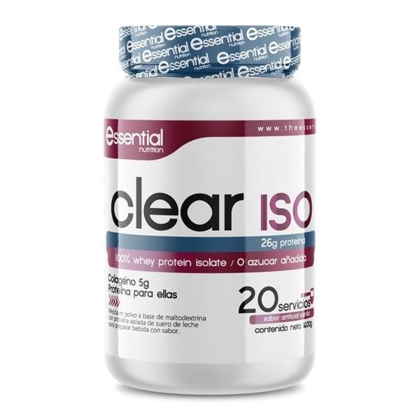 CLEAR ISO ESSENTIAL NUTRITION PARA ELLAS