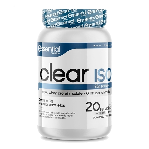 CLEAR ISO ESSENTIAL NUTRITION PARA ELLOS