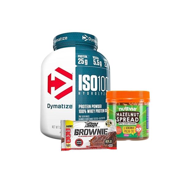 ISO 100 5 lbs + NUTTVIA + BROWNIE